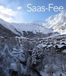 Saas-Fee ski holiday info